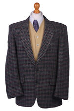 "Harris Tweed Men's Vintage Jacket Multi-Color Country Hacking Chest: 43"" HT1436"