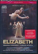 Royal Ballet Elizabeth DVD NEW Zenaida Yanowsky Carlos Acosta