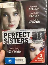Perfect Sisters ex-rental region 4 DVD (2014 Abigail Breslin drama movie)