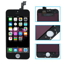 For iPhone SE Black LCD Screen Touch Digitizer Display Assembly Replacement Part