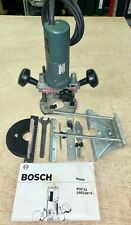"Bosch POF 52 230V 500W 1/4"" Router plus all Attachments. Very Good Condition"