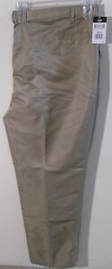 NWT Dickies Mens B&T Relaxed Fit Executive Pants 50 UU Desert Sand MSRP$54