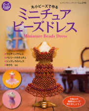 Miniature Beads Dress 21 Patterns Japanese Beads Craft Book Japan