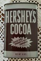 Vintage Hershey's® Cocoa Metal 8-oz Tin w/Lid ~ Classic Hershey's® Design ~ 2