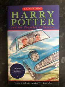 Harry Potter and The Chamber of Secrets Ted Smart 1st Edition 2nd Print