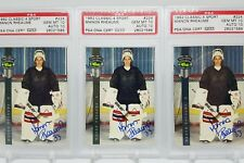 1992 Classic #224 4 Sport Manon Rheaume Acetate PSA GEM MINT 10 CARD AND AUTO!!