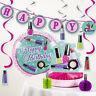Sparkle Spa Party Decorations Kit