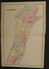 Pennsylvania Bedford County Map Londonderry1877 Double Page !W9#79