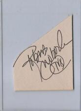 Robin Swoboda Signed Vintage Program Page WJW-TV Cleveland