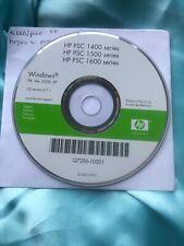 HP PSC 1400 1500 1600 SERIES WINDOWS (Q7286-10001) SETUP CD-ROM - EXCELLENT