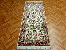Orientteppich Teppich  Seidenteppich Palast Läufer 180x77  Wunderschön Neuwertig
