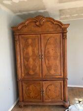 Wardrobe Armoire Storage Closet Cabinet Wood Clothes Organizer Bedroom Furniture