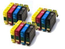 Pack 12 XL cartuchos de tinta non-oem Epson T1811 T1812 T1813 T1814 18XL T18 XL