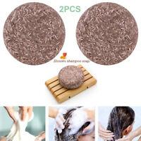 2 pcs Bio Multiflorum Solide Shampooing Savon Bar Antiprurigineux Cheveux