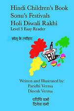Hindi Children's Book - Sonu's Festivals - Holi Diwali Rakhi (Hindi Children's B