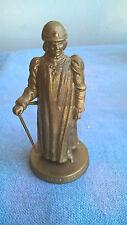 Mokarex Jeu d'échecs figurine dorée Charles le Téméraire Le Roi Années 60