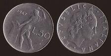 50 LIRE 1967 VULCANO - ITALIA