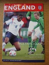 29/11/2006 Inghilterra semi-professionale V HOLLAND semi-professionali [presso Burton ALBI