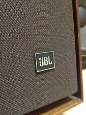 Huntley Audio.com Exclusive New Pair of Brown JBL L-200B Studio Monitor Grilles