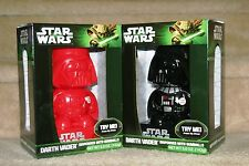 Star Wars Darth Vader Gumball Machine Dispenser Set Red & Black. Easter