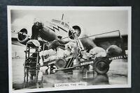 British Airways  Lockheed Electra   1930's Vintage Action Photo Card # VGC
