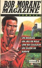 BOB MORANE magazine Jungle 1 Henri VERNES Glénat