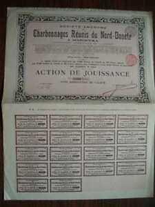 Charbonnages Reunis du Nord-Donetz 250 FR Share 1903