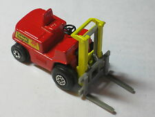 1972 Old Vtg Antique Matchbox Superfast #15 Fork Lift Truck Toy Made In England