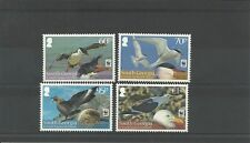 SOUTH GEORGIA SOUTH SANDWICH ISLANDS - 2012 SEA BIRDS WWF SET -MNH
