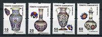 Turkey 2016 MNH Glazed Ceramics 4v Set Artefacts Pottery Stamps