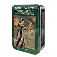 NEW Smith-Waite Centennial Tarot Deck in Collectible Tin Mini Rider-Waite
