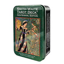 NEW Smith-Waite Centennial Tarot Deck in Collectible Tin Mini Rider-Waite
