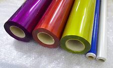 Bügelfolie Jamara 2 Meter x 60 cm - transparent 5 verschiedene Farben 9,- €