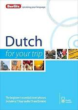 Berlitz Dutch for Your Trip CD AUDIO NEW SEALED