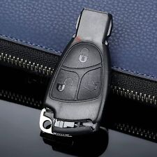 Remote 3 Button Key Shell Case Fob for Mercedes B C E Class SLK CLK Replacement