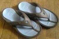 🎀   DISNEY CROCS Men's Mickey Mouse Flip Flops Sandals Size 11