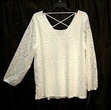 0a9ebbb53 Camisas, camisetas y tops de mujer blancos de encaje | Compra online ...