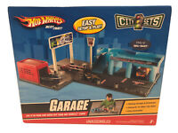 New Hot Wheels  City Sets Parking Garage & Launch For Ages 3+  Car Not Included