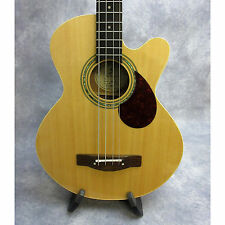 Greg Bennett Design by Samick AB-2 Acoustic 4-string Bass - w/case – Natural