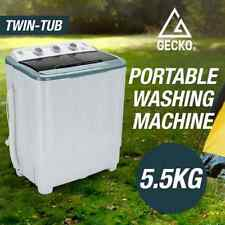 5.5kg Mini Top load Twin Tub Portable Washing Machine - Camping Caravan Machine
