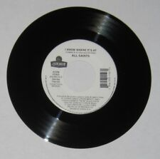 "All Saints - 45 - ""I Know Where It's At"" (2 versions)  - NM"