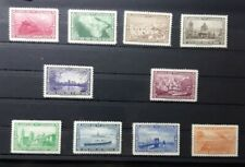 American Bank Note Eaton's Fine Letter Paper 10 Cinderella Stamps of Ny scenes