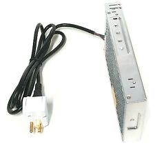 Makermotor 12v dc Regulated Switching Power Supply 17A Power Cord ON/OFF Switch