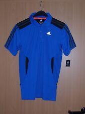 adidas 365 Herren Polo Poloshirt Sportshirt ClimaCool blau Kurzarm Grösse S neu