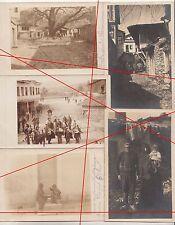 7 X AK 1 WK diquesta Strumica efficaci Hisar Macedonia turchi popolazione! 1917 (f1926