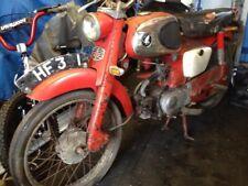 Honda C110 Sprint Project Original Restoration Barn Find