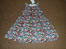 NEW girls h+m FLOWER / FLORAL summer dress 6 - 7 - 8 YEARS  - bnwt