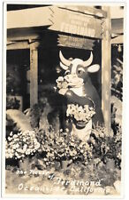 Real Photo Postcard The House of Ferdinand in Oceanside, California~104830