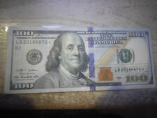 100$ Star Note with 2018 in Serial Number.  Great for Gifts and Birthdays!