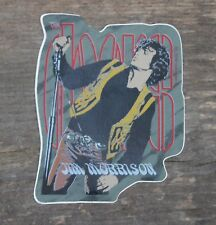 "Vintage The Doors Jim Morrison 1988 Rock Band Sticker 3"" x 3 3/4"" +"